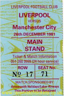 1981-82 div1 m17 LIVERPOOL 1 MANCHESTER CITY 3 [ms]